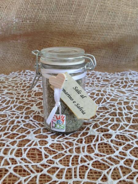 Sale aromatizzato in vasetto